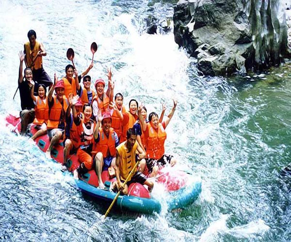 1 Day Tour to Rafting in Maoyan river and Tujia Folk Custom Park