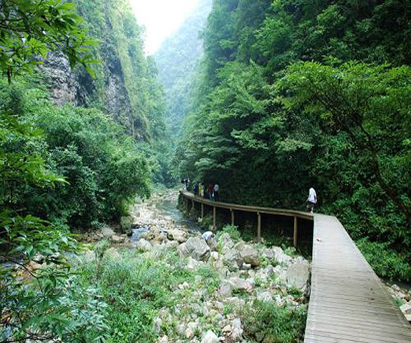 2 Days Tour to ZJJ Grand canyon and Glass bridge and Jiangya natural hot spring