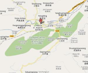 Zhangjiajie District Map