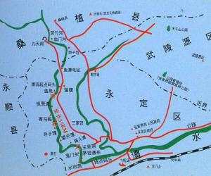 Maoyan River Drifting Map