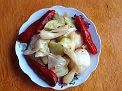 Zhangjiajie Tu Minority Pickled Vegetables