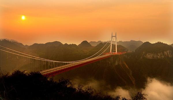 Aizhai Grand Suspension Bridge