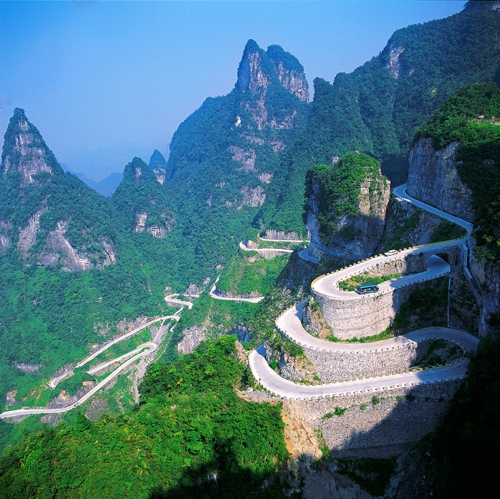 1 Day Final Tour to Tianmen Mountain and Airport Transfer