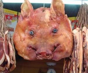 ZJJ Spring Festival Cuisine-Smoked Pig Head