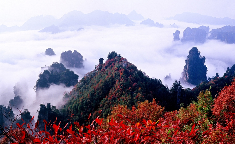 7D6N Group Tour for Changsha-Zhangjiajie-Fenghuang-Changsha