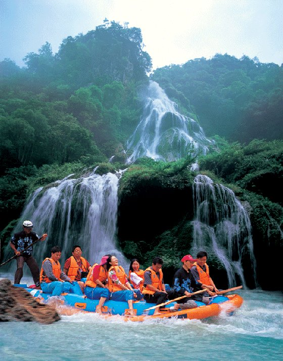 1D Zhangjiajie Join-In tour to Maoyan river rafting and Jiutian cave