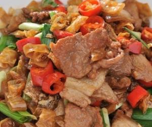 Hunan Cuisine:Fried Pork with Salted Pepper