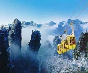 Zhangjiajie Winter Tourism-A Snow Kingdom