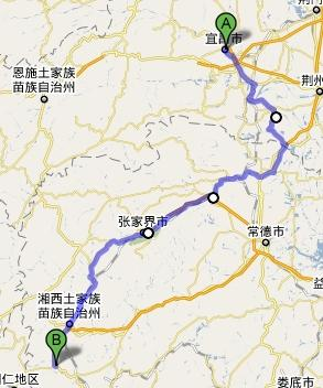 Zhangjiajie to Yichang transportation recommendation