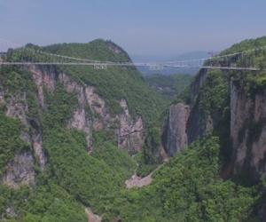 Zhangjiajie Grand Canyon Glass Bridge[Photo Gallery]