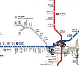 NANJING TO CHENGDU High-rail Train Travel Map(2016)