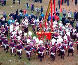 Miao Minority Autumn Harvest Festival