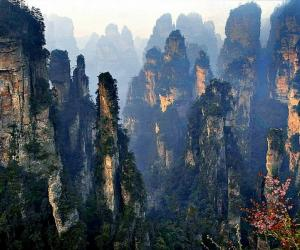 How about representative scenic spots in Zhangjiajie?