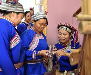 Hunan Miao Embroidery Techniques Promoted