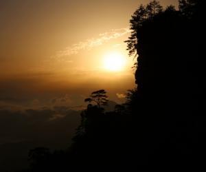 Wulingyuan Scenic Area Radiant Tianzi Mountain