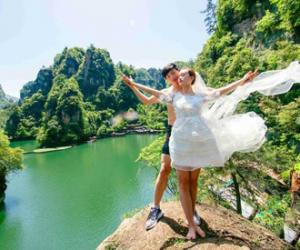 Zhangjiajie was selected in China's Top-ten love scenic spots