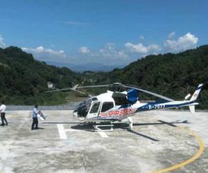 2017 Zhangjiajie helicopter tour itinerary