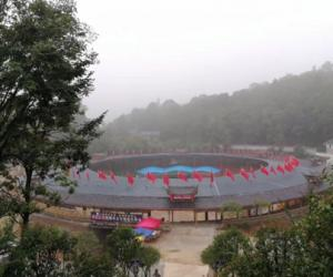 Zhangjiajie bullring town will be open to the public
