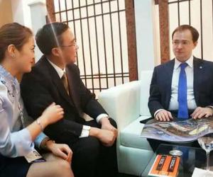 Russian Culture Minister Meets with Zhangjiajie Circus City
