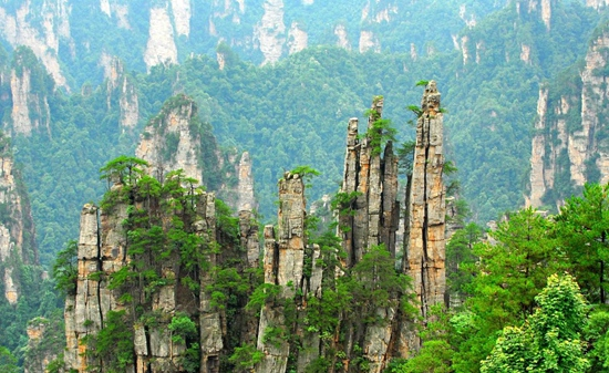 2020 Zhangjiajie Local JOIN-IN TOUR's Routes