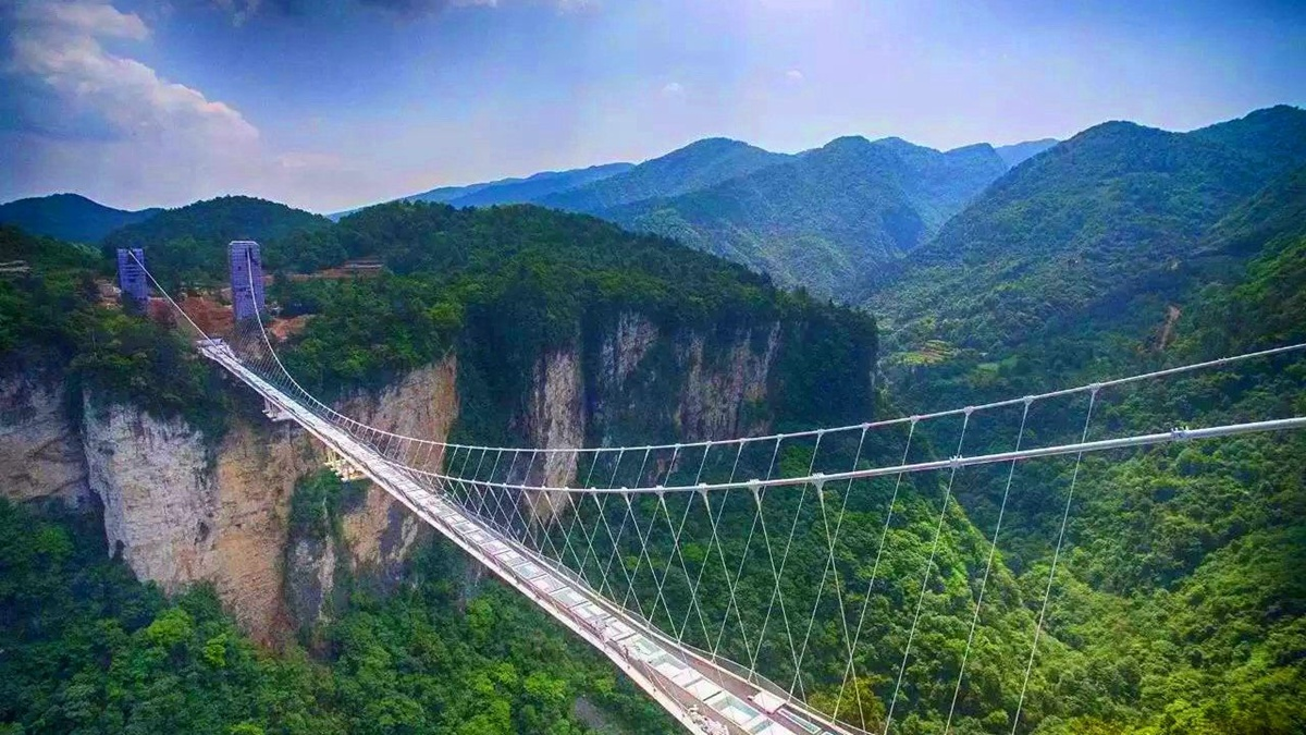 4D3N Family tour to Avatar park-Grand cayon-Glass bridge-Tianmenshan