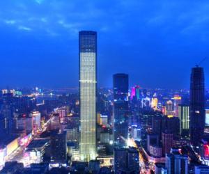 Hunan's Tallest Building Opens
