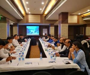 Zhangjiajie held a promotion conference in India