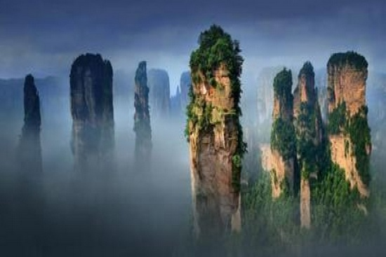 How do I fly to Zhangjiajie?