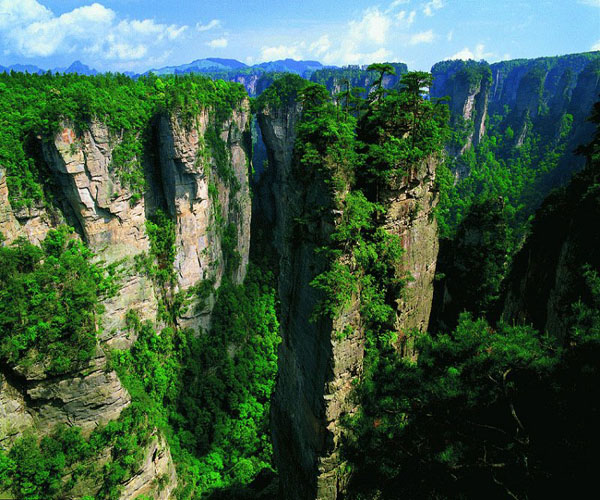How to tour in Zhangjiajie(Avatar) National Forest Park