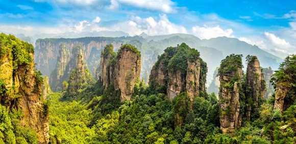 Zhangjiajie weather and climate