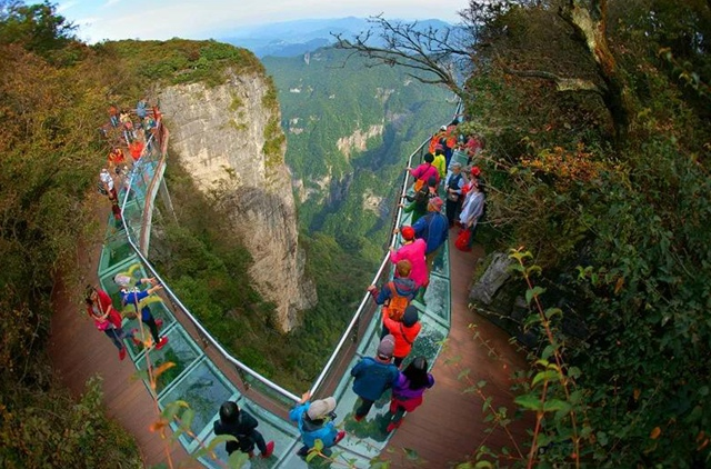 Tianmenshan Glass Plank Road Introduction