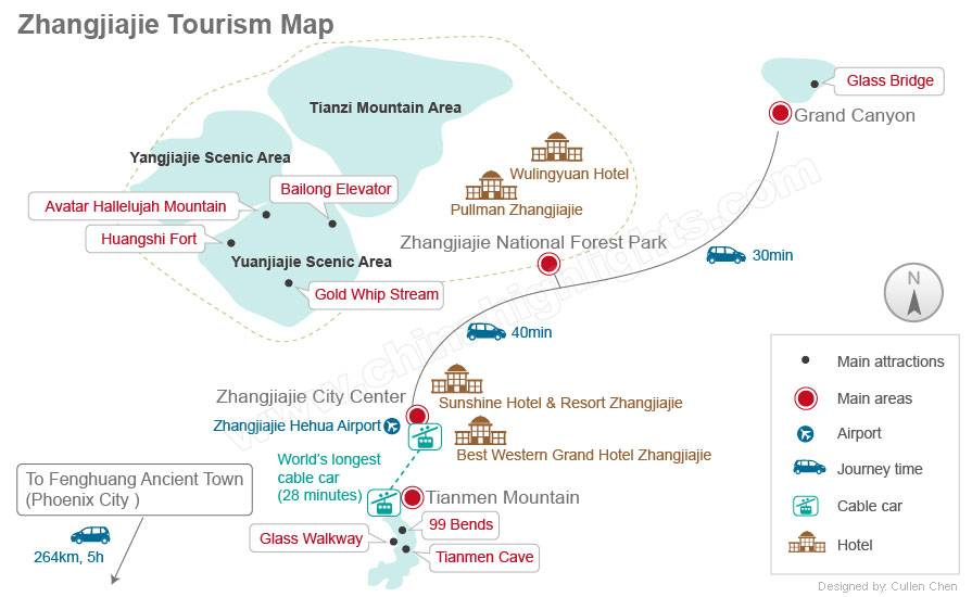 Zhangjiajie Tourism Map.jpg