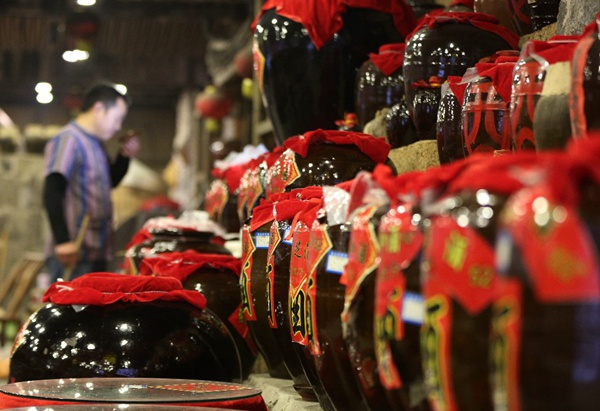 Rice wine brewing industry grows rapidly in Zhangjiajie