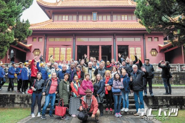 Foreign Travel Agents and Media Representatives Visit Changsha