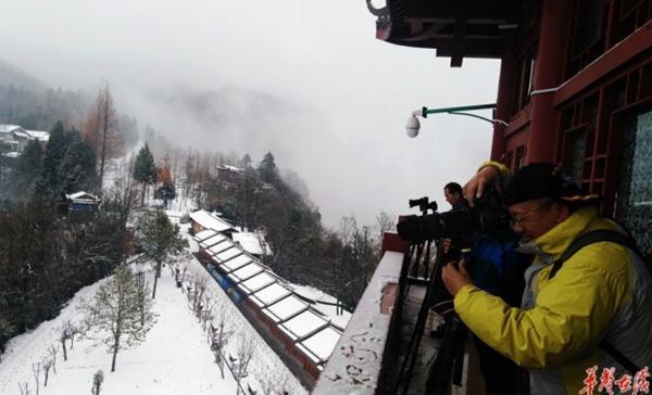 Snowy Wulingyuan Wonderland